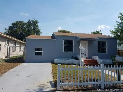 Miami Single Family Home For Sale: 575 NW 49th St