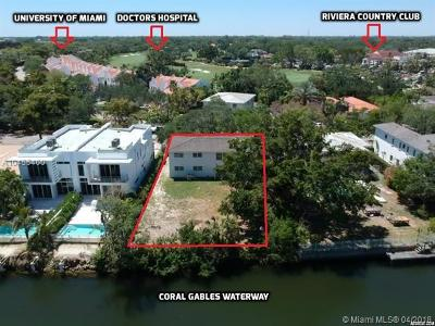 Coral Gables Residential Lots & Land For Sale: 4851 University Drive