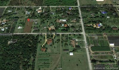 Homestead FL Residential Lots & Land For Sale: $220,000