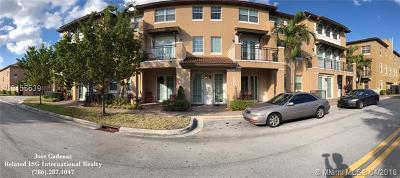 Condo Active With Contract: 14739 SW 9th St #3106