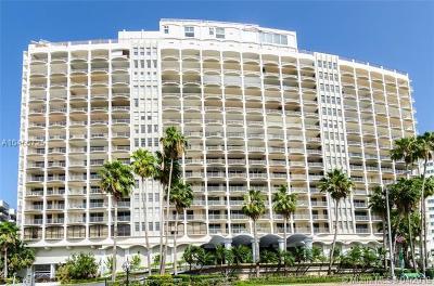 Miami Beach Condo For Sale: 5401 Collins Ave #520