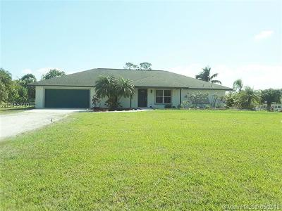 Palm Beach County Single Family Home For Sale: 15760 97th Dr N