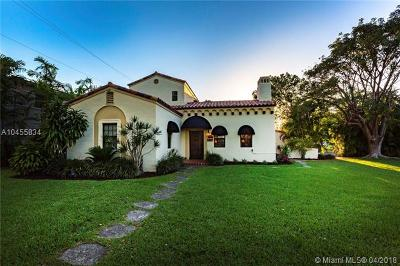 Coral Gables Single Family Home For Sale: 5500 Alhambra Cir