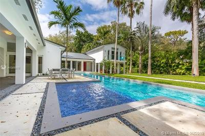 Coconut Grove FL Single Family Home For Sale: $2,900,000