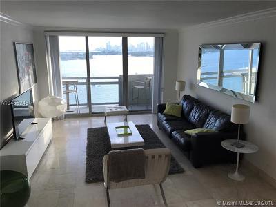 Miami Beach Condo For Sale: 1500 Bay Rd #1218S