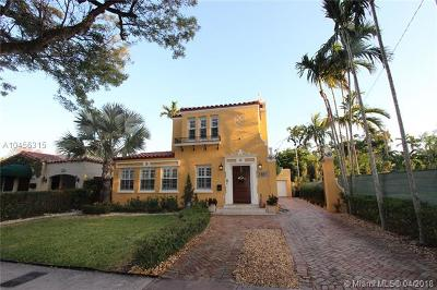 Coral Gables Single Family Home For Sale: 716 Navarre Ave