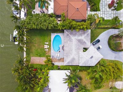 Miami, Miami Beach Single Family Home For Sale: 1055 Belle Meade Island Dr