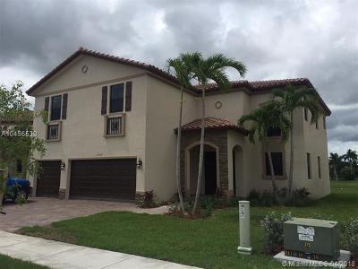 Homestead Single Family Home For Sale: 3460 SE 3rd St