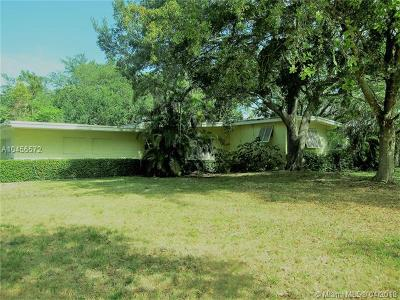 Palmetto Bay Single Family Home For Sale: 14155 Old Cutler Rd