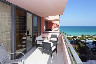 Miami Beach Condo For Sale: 5225 Collins Ave #1219