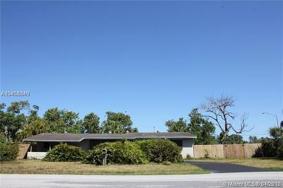 Miami-Dade County Single Family Home For Sale: 11845 SW 82nd Rd