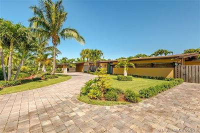 Pinecrest Single Family Home For Sale: 7821 SW 134th St