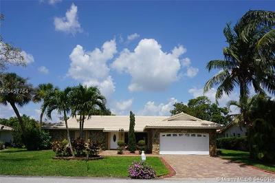 Coral Springs Single Family Home For Sale: 892 NW 84th Dr