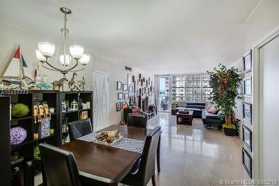 Miami Beach Condo For Sale: 5700 Collins Ave #7D