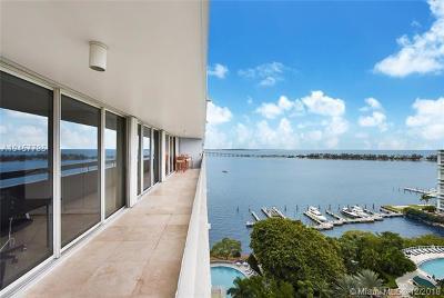 Miami Condo For Sale: 1627 Brickell Ave #2004