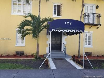 Coral Gables Condo For Sale: 124 Mendoza Ave #1