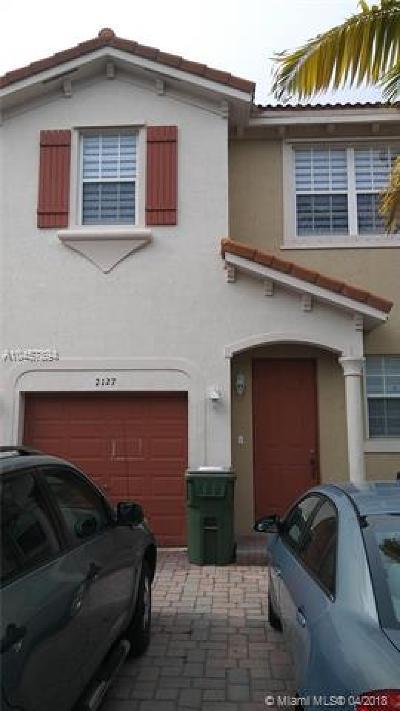 Homestead Condo For Sale: 2127 NE 6 St #2127