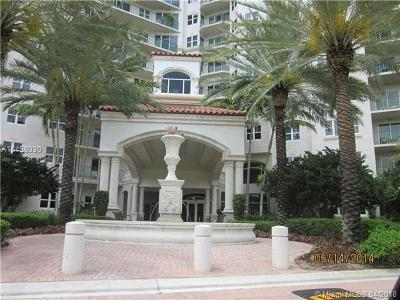 Aventura Condo For Sale: 19900 E Country Club Dr #104