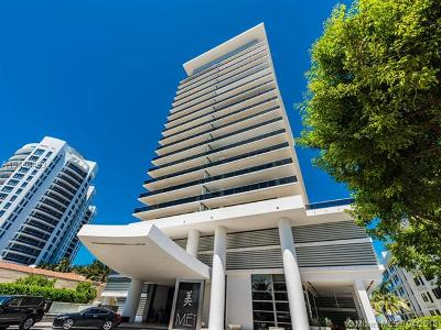 Miami Beach Condo For Sale: 5875 Collins Ave #1705