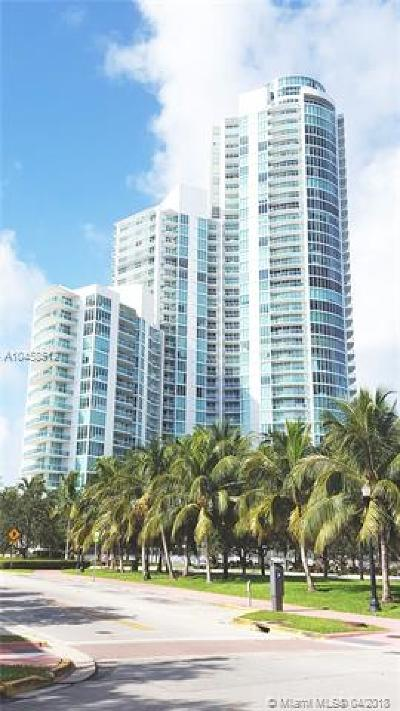 Miami Beach Condo For Sale: 1000 S Pointe Dr #1107