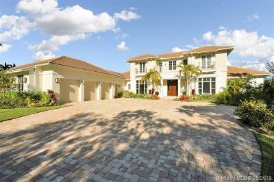 Palm Beach Gardens Single Family Home For Sale: 8124 E Native Dancer Rd E