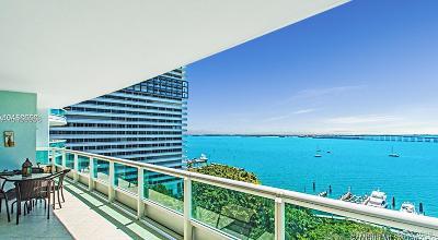 Miami-Dade County Condo For Sale: 1643 Brickell Ave #1204