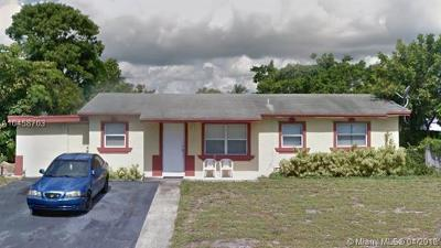Deerfield Beach Single Family Home For Sale: 1111 SW 7th Ave