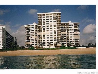 Lauderdale By The Sea Condo For Sale: 1800 S Ocean Boulevard #204