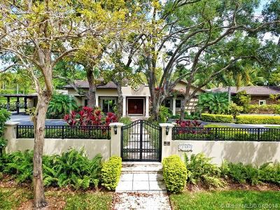 Pinecrest Single Family Home For Sale: 11601 SW 69th Ave