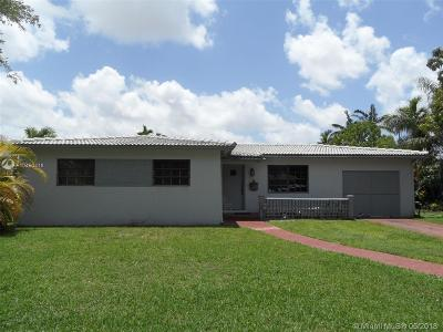 Miami Springs Single Family Home For Sale: 270 Linwood Dr