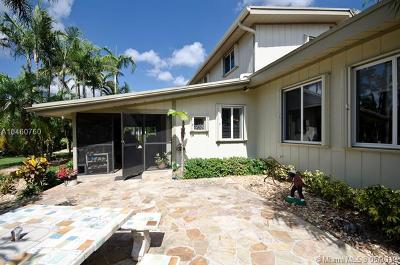 Homestead Single Family Home For Sale: 19900 SW 260th St