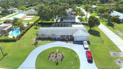 Cutler Bay Single Family Home For Sale: 18550 SW 87th Ave