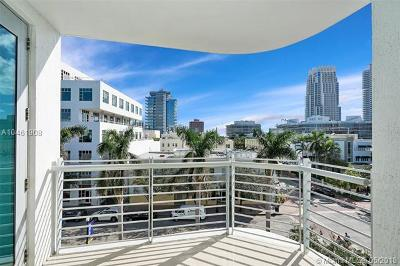 Miami Beach Condo For Sale: 110 Washington Ave #1507