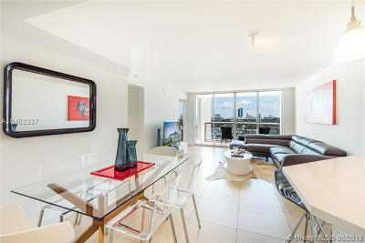 Miami Beach Condo For Sale: 1800 Sunset Harbour Dr #1015