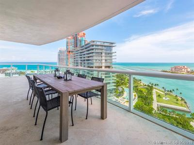 Miami Beach Condo For Sale: 1000 S Pointe Dr #2104