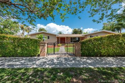 Pinecrest Single Family Home For Sale: 7331 SW 136th St