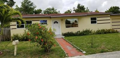 Miami Gardens Single Family Home For Sale: 80 NW 184th Ter