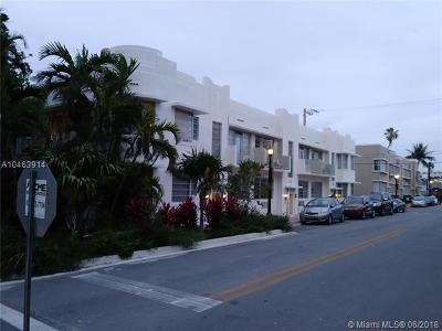 Miami Beach Condo For Sale: 737 11th St #6