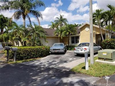 Single Family Home For Sale: 13910 SW 103rd Ter