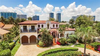 Golden Beach Single Family Home For Sale: 410 Ocean Blvd