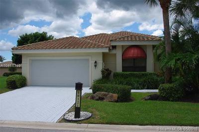 Boca Raton Single Family Home For Sale: 10121 Spyglass Way