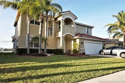 Pembroke Pines Single Family Home For Sale: 19077 NW 23rd Pl