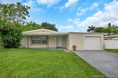 Fort Lauderdale Single Family Home For Sale: 1967 SW 28th Ave