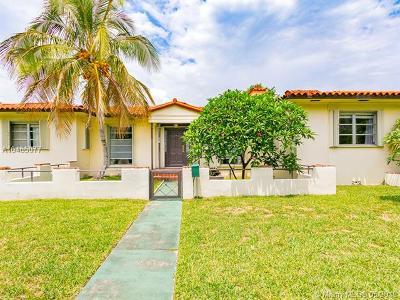 Surfside Single Family Home For Sale: 9400 Abbott Ave