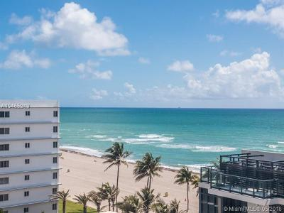 Hollywood Condo For Sale: 2201 S Ocean Dr #803