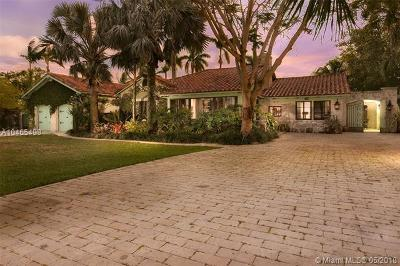 Biscayne Park Single Family Home For Sale: 11520 Griffing Blvd