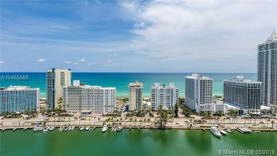 Miami Beach Condo For Sale: 5001 Collins Ave #16E