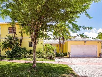 Miami Beach Single Family Home For Sale: 5780 Alton Rd