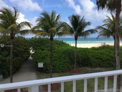 Miami Beach Condo For Sale: 5601 Collins Ave #825