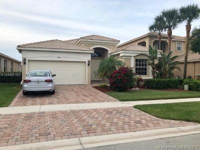 Lake Worth Single Family Home For Sale: 7458 Via Luria